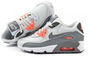 "Buty Nike Air Max 90 LTR (GS) ""Light Platinum"" (833376 006)"