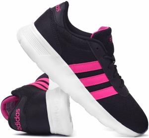 separation shoes 19bcd 34f23 Buty Damskie ADIDAS LITE RACER W czarno-różowe (BB9835)
