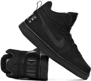 BUTY za kostkę NIKE Court Borough Mid  (839977 001)