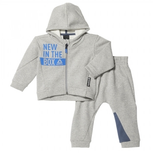 Dres Dziecięcy Reebok ELEMENTS INFANT FULL ZIP HOODIE SET (BR7071)