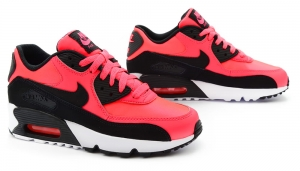 Buty Nike Air Max 90 Mesh (GS) (833340-600)