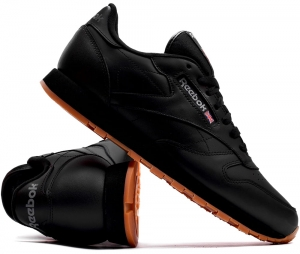 "Buty Reebok Classic Leather ""Black/Gum"" (49800)"