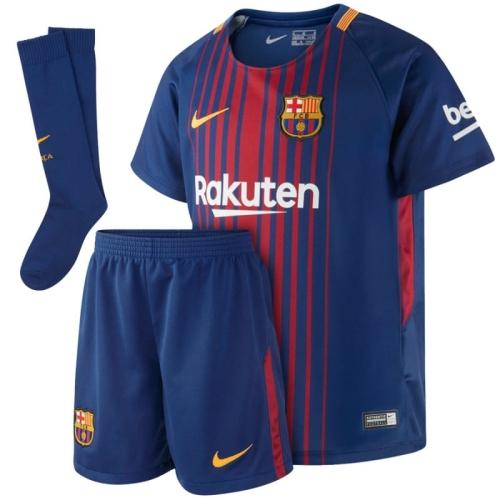 392a5829bd76b Komplet (strój) piłkarski 2017 18 FC Barcelona Stadium Home (847355 456)