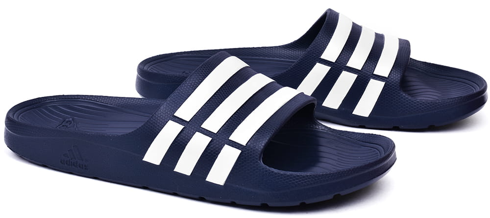 the best attitude ecdd5 78299 Klapki męskie Adidas Duramo Slide grantowe (G15892)