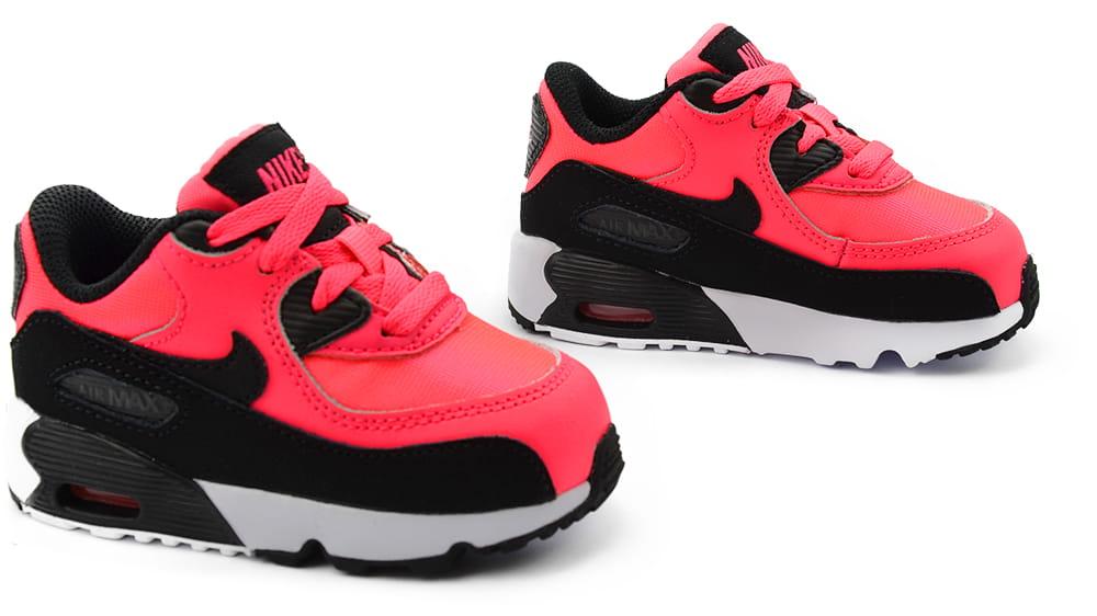 21ab1c22558e Buty Dziecięce Nike AIR MAX 90 MESH (TD) (833342 600) ProSport24.pl ...
