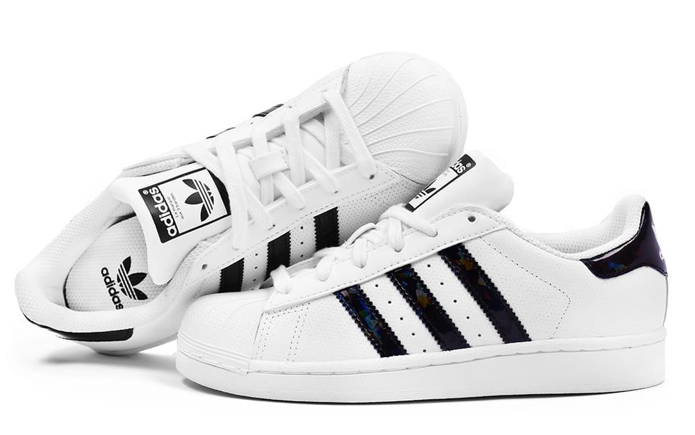 superstar adidas damskie białe